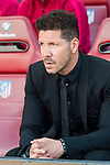 Coach Diego Simeone of Atletico de Madrid during the La Liga match between Atletico de Madrid vs Osasuna at Estadio Vicente Calderon on 15 April 2017 in Madrid, Spain. Photo by Diego Gonzalez Souto / Power Sport Images