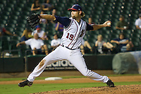 Muecke, Josh 6207.jpg.  PCL baseball featuring the Memphis Redbirds at Round Rock Express at Dell Diamond on August 25th 2009 in Round Rock, Texas. Photo by Andrew Woolley.