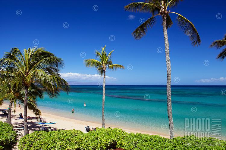 Beautiful day at Napili Bay, Maui.