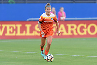 Frisco, TX - Sunday September 03, 2017: Amber Brooks during a regular season National Women's Soccer League (NWSL) match between the Houston Dash and the Seattle Reign FC at Toyota Stadium in Frisco Texas. The match was moved to Toyota Stadium in Frisco Texas due to Hurricane Harvey hitting Houston Texas.