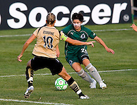 Saint Louis Athletica forward Sarah Walsh (21) during a WPS match at Anheuser-Busch Soccer Park, in St. Louis, MO, July 26, 2009.  The match ended in a 1-1 tie.