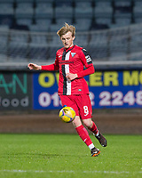 27th March 2021; Dens Park, Dundee, Scotland; Scottish Championship Football, Dundee FC versus Dunfermline; Ewan Henderson of Dunfermline Athletic made his debut on loan from Celtic