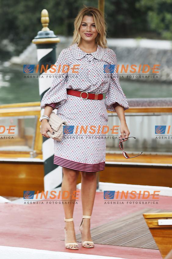 VENICE - August 31: Emma Marrone on August 31, 2018 in Venice, Italy.(By Mark Cape/Insidefoto)