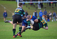 Action from the North Harbour Under-85kg rugby final between East Coast Bays and Massey at Windsor Park in North Shore, New Zealand on Saturday, 7 August 2021. Photo: Dave Lintott / lintottphoto.co.nz