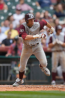 Luke Anders #44 of the Texas A&M Aggies hustles down the first base line versus the UC-Irvine Anteaters in the 2009 Houston College Classic at Minute Maid Park February 27, 2009 in Houston, TX.  The Aggies defeated the Anteaters 9-2. (Photo by Brian Westerholt / Four Seam Images)