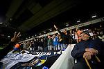 Tottenham Hotspur 0 Lazio 0, 20/09/2012. White Hart Lane, Europa League. Lazio support at White Hart Lane. Photo by Simon Gill.