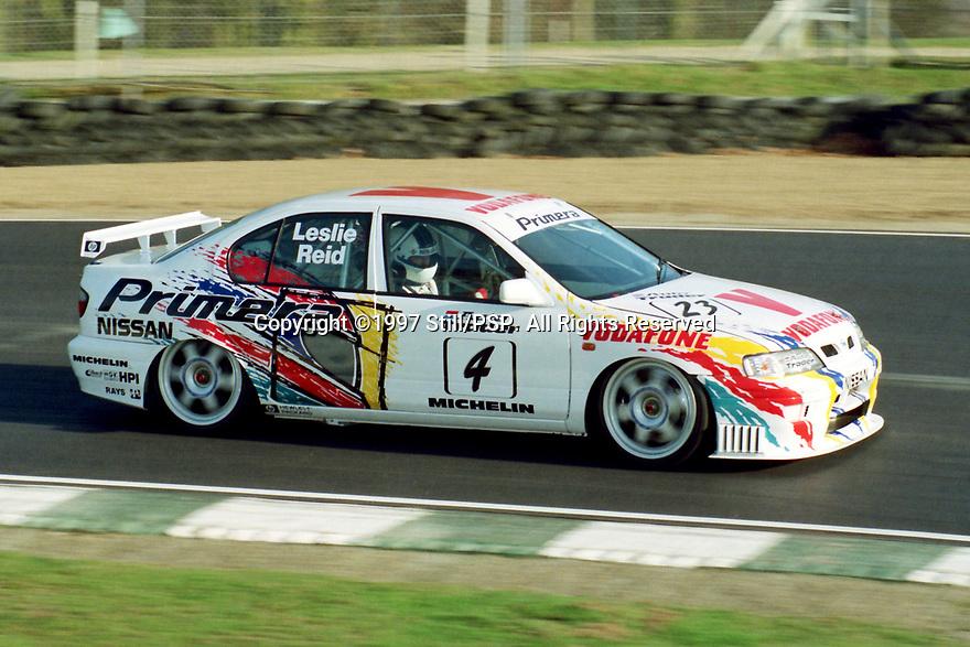 British Touring Car Championship Media day. #4 David Leslie (GBR). Vodafone Nissan Racing. Nissan Primera.
