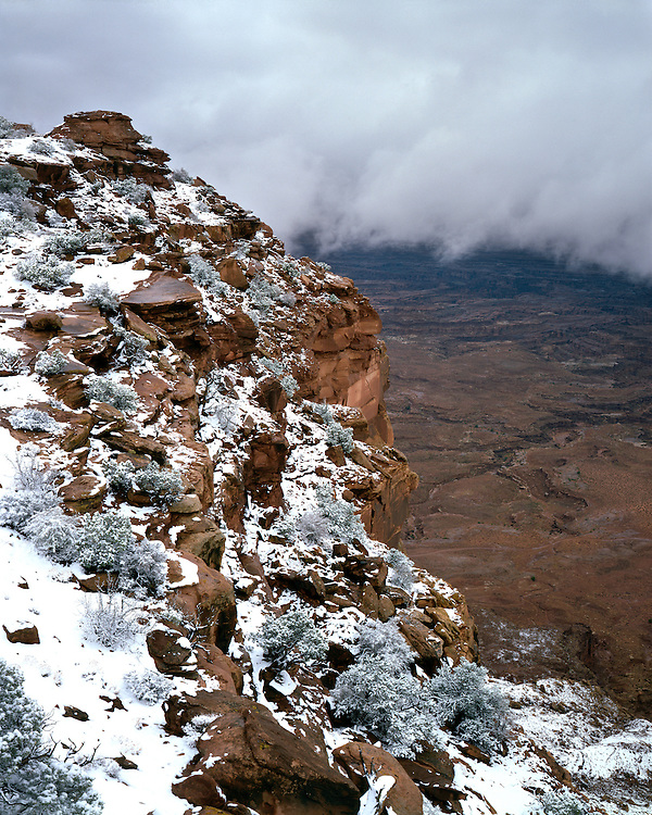 Clearing winter storm in the Needles District; Canyonlands National Park, UT