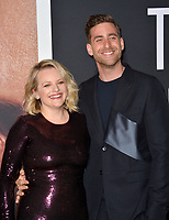 "LOS ANGELES, CA: 24, 2020: Elisabeth Moss & Oliver Jackson-Cohen at the premiere of ""The Invisible Man"" at the TCL Chinese Theatre.<br /> Picture: Paul Smith/Featureflash"