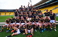 201113 Mitre 10 Cup Rugby - Wellington Lions Team Photo