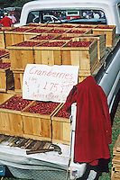 Cranberries for sale, New Jersey