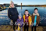 Rachel, Jack and Tadgh Lawlor and Ciara O'Keeffe enjoying a stroll around the Tralee Bay Wetlands on Saturday.