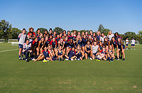 Kansas City, KS - July 21, 2018: The USWNT trains for the Tournament of Nations at the National Development Center.