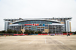 The NRG Stadium in Houston Texas is home to the 2017 Super Bowl LI.
