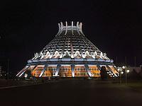 Eissporthalle in Pyongyang, Nordkorea, Asien<br /> indoor ice rink, Pyongyang, North Korea, Asia