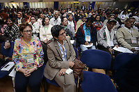 """BOGOTÁ -COLOMBIA. 10-10-2014. Encuentro por la """"Dignidad de las Víctimas del Genocidio contra La UP"""" realizado hoy, 10 de octuber de 2014, en la ciudad de Bogotá./ Meeting for the """"Dignity of Victims of Genocide against The UP"""" took place today, October 10 2014, at Bogota city. Photo: Reiniciar /VizzorImage/ Gabriel Aponte<br /> NO VENTAS / NO PUBLICIDAD / USO EDITORIAL UNICAMENTE / USO OBLIGATORIO DELCREDITO"""