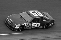 Greg Sacks #50 Pontiac Daytona 500 at Daytona International Speedway in Daytona Beach, FL on February 14, 1988. (Photo by Brian Cleary/www.bcpix.com)