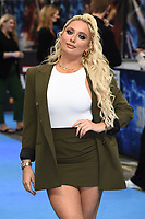"""Saffron Barker<br /> arriving for the """"Shang-Chi And The Legend Of The Ten Rings"""" premiere at Curzon Mayfair, London<br /> <br /> ©Ash Knotek  D3570  26/08/2021"""