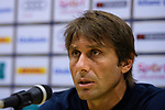 Chelsea FC Head Coach Antonio Conte speaks at the press conference after the International Champions Cup 2017 match between FC Internazionale and Chelsea FC on July 29, 2017 in Singapore. Photo by Weixiang Lim / Power Sport Images