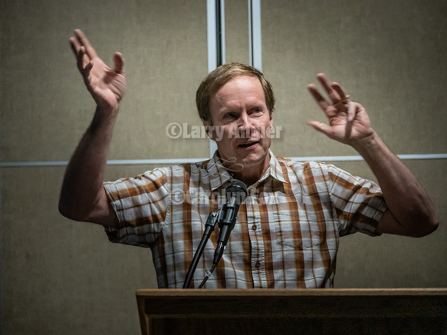 Speakers at Shooting the West XXX <br /> <br /> Tom Bol from Boulder, Colorado<br /> <br /> #ShootingTheWest XXX, #WinnemuccaNevada,