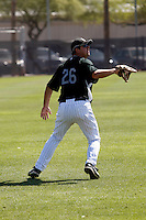 Justin Nelson - Colorado Rockies - 2009 spring training.Photo by:  Bill Mitchell/Four Seam Images