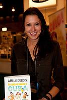 Amelie Dubois<br /> <br />  at montreal book fair, November 2015,<br /> <br /> <br /> PHOTO : Michel Karpoff<br /> <br />  - Agence Quebec Presse