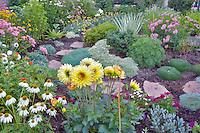 Garden at Mirror Pond Gallery. Bend. Oregon