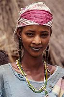 Young Nigerien Woman, Drouel, Niger.