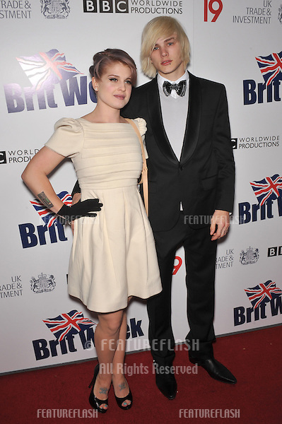 Kelly Osbourne & Luke Worrall at the champagne launch party for BritWeek 2010 at the British Consul General's residence in Los Angeles..April 20, 2010  Los Angeles, CA.Picture: Paul Smith / Featureflash