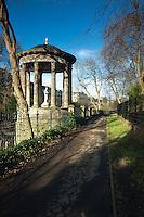St Bernard's Well and the Water of Leith, Stockbridge, Edinburgh
