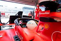 10th 2020, Nuerburgring, Nuerburg, Germany; FIA Formula 1 Eifel Grand Prix, Qualifying sessions;  5 Sebastian Vettel GER, Scuderia Ferrari Mission Winnow