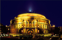 England. London.  The Royal Albert Hall.  Victorian public building named after Albert, the Prince Consort, Queen's Victoria's husband, and now used principally for music concerts, especially the London Proms.