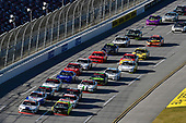 #98: Chase Briscoe, Stewart-Haas Racing, Ford Mustang Ford Performance Racing School and #19: Brandon Jones, Joe Gibbs Racing, Toyota Supra Menards/Swiffer