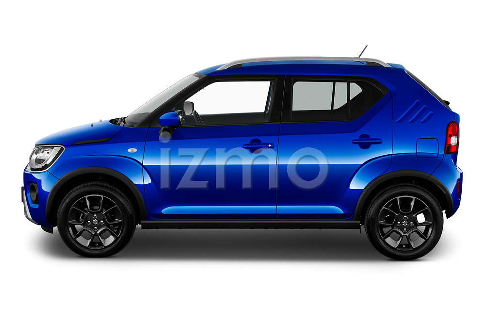Car Driver side profile view of a 2020 Suzuki Ignis GL+ 5 Door Hatchback Side View