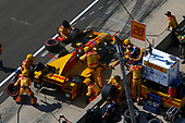 Verizon IndyCar Series<br /> IndyCar Grand Prix<br /> Indianapolis Motor Speedway, Indianapolis, IN USA<br /> Saturday 13 May 2017<br /> Ryan Hunter-Reay, Andretti Autosport Honda pit stop<br /> World Copyright: Phillip Abbott<br /> LAT Images<br /> ref: Digital Image abbott_indyGP_0517_4727