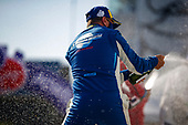 #73 LA Honda World Racing Honda Civic TCR, TCR: Mike LaMarra, Mathew Pombo, Champagne