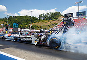 NHRA Mello Yello Drag Racing Series<br /> NHRA Thunder Valley Nationals<br /> Bristol Dragway, Bristol, TN USA<br /> Sunday 18 June 2017 Shawn Langdon, Global Electronic Technology, top fuel dragster <br /> <br /> World Copyright: Mark Rebilas<br /> Rebilas Photo