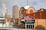 Fillmore Auditorium in winter, Denver, Colorado, USA John offers private photo tours of Denver, Boulder and Rocky Mountain National Park. .  John offers private photo tours in Denver, Boulder and throughout Colorado. Year-round.