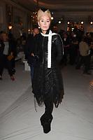 Daphne Guinness<br /> at the Jasper Conran SS18 Show as part of London Fashion Week, London<br /> <br /> <br /> ©Ash Knotek  D3308  16/09/2017