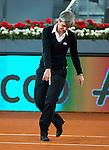 Referee during WTA Finals Mutua Madrid Open Tennis 2016 in Madrid, May 07, 2016. (ALTERPHOTOS/BorjaB.Hojas)