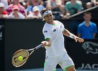 18-06-13, Netherlands, Rosmalen,  Autotron, Tennis, Topshelf Open 2013, David Ferrer<br /> Photo: Henk Koster