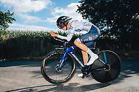 6th October 2021 Womens Cycling Tour, Stage 3. Individual Time Trial; Atherstone to Atherstone. Evita Muzic.