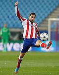 Atletico de Madrid's Jesus Gamez during Champions League 2014/2015 match.March 16,2015. (ALTERPHOTOS/Acero)