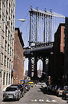 MANHATTAN BRIDGE FROM BROOKLYN STREET