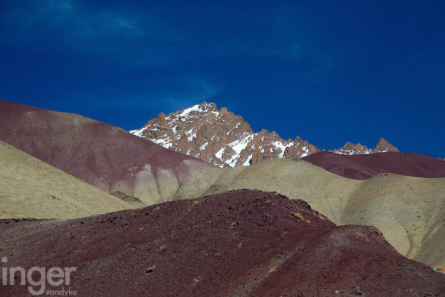 The Mountains behind Rumbak Village in the Zanskar, Ladakh