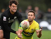 22nd May 2021; Grammar Tec, Auckland New Zealand; All Blacks Sevens versus Australia, Trans-Tasman Sevens;  Josh Turner.