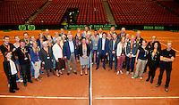15-sept.-2013,Netherlands, Groningen,  Martini Plaza, Tennis, DavisCup Netherlands-Austria, management team  <br /> Photo: Henk Koster