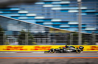 26th September 2020, Sochi, Russia; FIA Formula One Grand Prix of Russia, qualification;  3 Daniel Ricciardo AUS, Renault DP World F1 Team