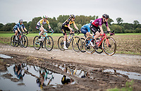Jolien d'Hoore (BEL/SD Worx)<br /> <br /> Inaugural Paris-Roubaix Femmes 2021 (1.WWT)<br /> One day race from Denain to Roubaix (FRA)(116.4km)<br /> <br /> ©kramon