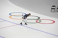 OLYMPIC GAMES: PYEONGCHANG: 17-02-2018, Gangneung Oval, Long Track, Training session, Joey Mantia (USA), ©photo Martin de Jong